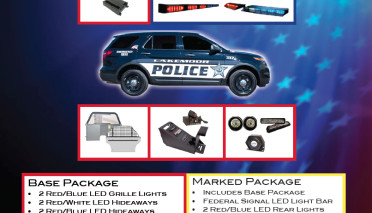 $5999 Police Vehicle Package